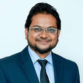 Dr. Nishan de Mel